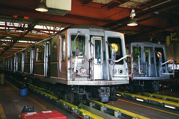 (128k, 600x400)<br><b>Country:</b> United States<br><b>City:</b> New York<br><b>System:</b> New York City Transit<br><b>Location:</b> Coney Island Shop/Maint. & Inspection Shop<br><b>Car:</b> R-40 (St. Louis, 1968)  4294 <br><b>Photo by:</b> Sidney Keyles<br><b>Date:</b> 5/22/1999<br><b>Viewed (this week/total):</b> 0 / 4749