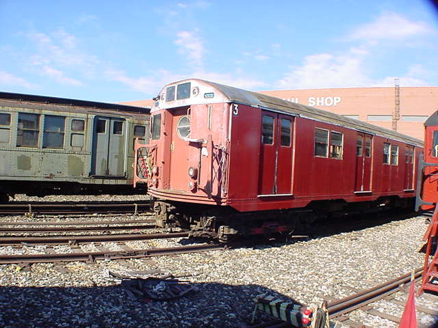(61k, 640x480)<br><b>Country:</b> United States<br><b>City:</b> New York<br><b>System:</b> New York City Transit<br><b>Location:</b> Coney Island Yard-Museum Yard<br><b>Car:</b> R-16 (American Car & Foundry, 1955) 6339 <br><b>Photo by:</b> Salaam Allah<br><b>Date:</b> 10/29/2000<br><b>Viewed (this week/total):</b> 5 / 7448