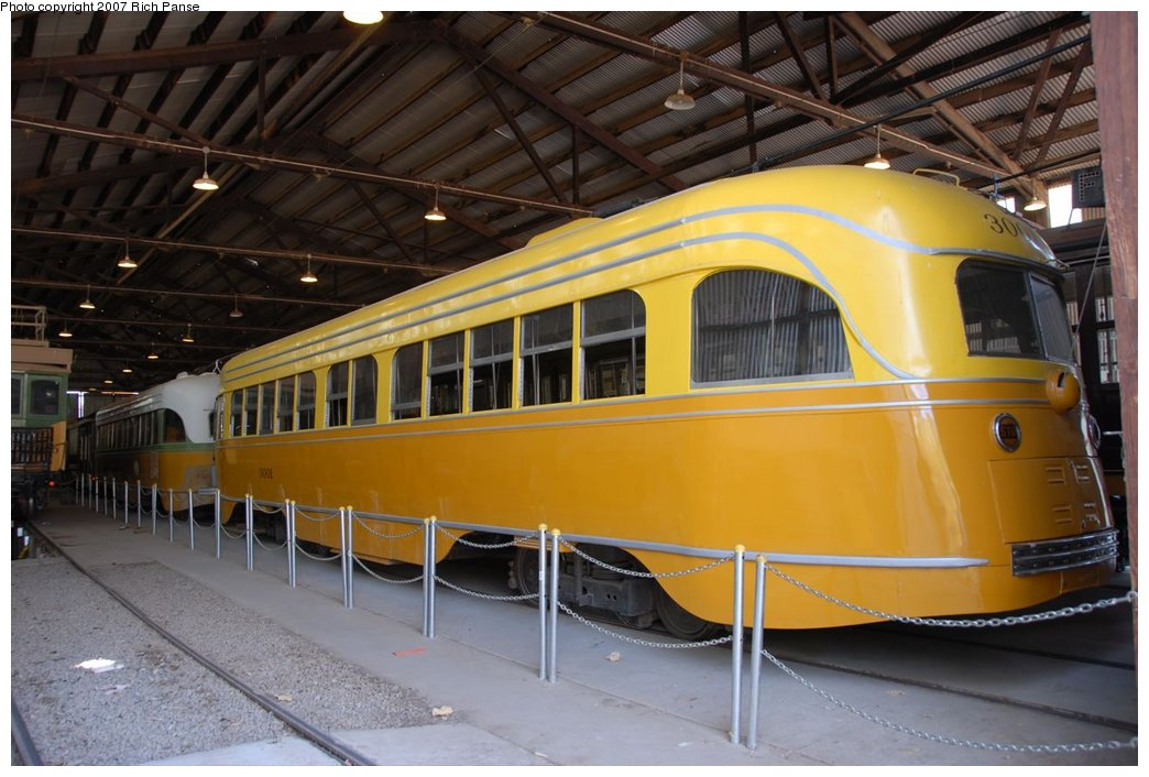 (171k, 1044x706)<br><b>Country:</b> United States<br><b>City:</b> Perris, CA<br><b>System:</b> Orange Empire Railway Museum <br><b>Car:</b>  3001 <br><b>Photo by:</b> Richard Panse<br><b>Date:</b> 6/23/2007<br><b>Viewed (this week/total):</b> 0 / 470