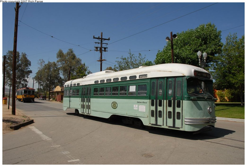 (165k, 1044x706)<br><b>Country:</b> United States<br><b>City:</b> Perris, CA<br><b>System:</b> Orange Empire Railway Museum <br><b>Car:</b>  3165 <br><b>Photo by:</b> Richard Panse<br><b>Date:</b> 6/23/2007<br><b>Viewed (this week/total):</b> 0 / 984