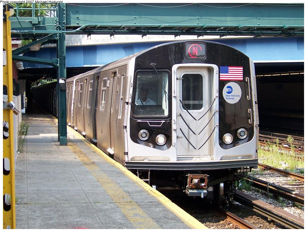 (238k, 1044x788)<br><b>Country:</b> United States<br><b>City:</b> New York<br><b>System:</b> New York City Transit<br><b>Line:</b> BMT Sea Beach Line<br><b>Location:</b> 86th Street <br><b>Route:</b> N<br><b>Car:</b> R-160B (Kawasaki, 2005-2008)  8782 <br><b>Photo by:</b> Michael Hodurski<br><b>Date:</b> 8/3/2007<br><b>Viewed (this week/total):</b> 5 / 1387