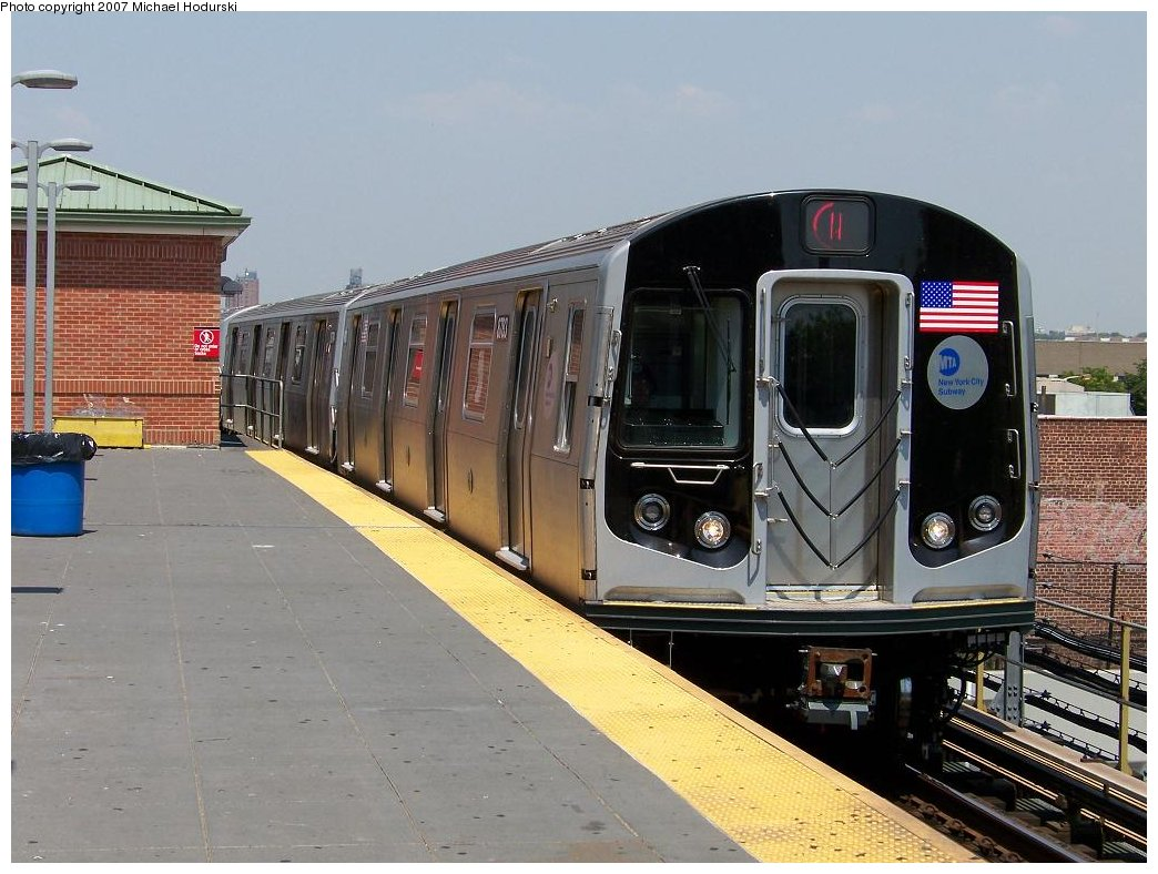 (177k, 1044x788)<br><b>Country:</b> United States<br><b>City:</b> New York<br><b>System:</b> New York City Transit<br><b>Location:</b> Coney Island/Stillwell Avenue<br><b>Route:</b> N<br><b>Car:</b> R-160B (Kawasaki, 2005-2008)  8783 <br><b>Photo by:</b> Michael Hodurski<br><b>Date:</b> 8/2/2007<br><b>Viewed (this week/total):</b> 1 / 2118