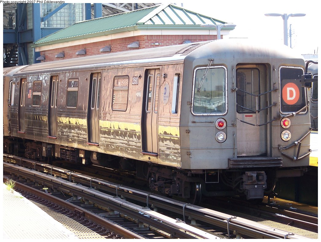 (230k, 1044x788)<br><b>Country:</b> United States<br><b>City:</b> New York<br><b>System:</b> New York City Transit<br><b>Location:</b> Coney Island/Stillwell Avenue<br><b>Route:</b> D<br><b>Car:</b> R-68 (Westinghouse-Amrail, 1986-1988)  2580 <br><b>Photo by:</b> Philip D'Allesandro<br><b>Date:</b> 8/11/2007<br><b>Viewed (this week/total):</b> 0 / 1282