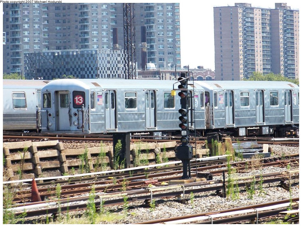 (282k, 1044x788)<br><b>Country:</b> United States<br><b>City:</b> New York<br><b>System:</b> New York City Transit<br><b>Location:</b> Coney Island Yard<br><b>Car:</b> R-62A (Bombardier, 1984-1987)  2069 <br><b>Photo by:</b> Michael Hodurski<br><b>Date:</b> 8/12/2007<br><b>Viewed (this week/total):</b> 5 / 2384