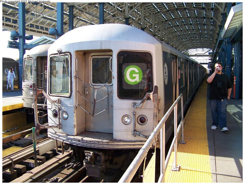 (254k, 1044x788)<br><b>Country:</b> United States<br><b>City:</b> New York<br><b>System:</b> New York City Transit<br><b>Location:</b> Coney Island Yard<br><b>Route:</b> G<br><b>Car:</b> R-42 (St. Louis, 1969-1970)  4916 <br><b>Photo by:</b> Michael Hodurski<br><b>Date:</b> 8/11/2007<br><b>Viewed (this week/total):</b> 2 / 2132