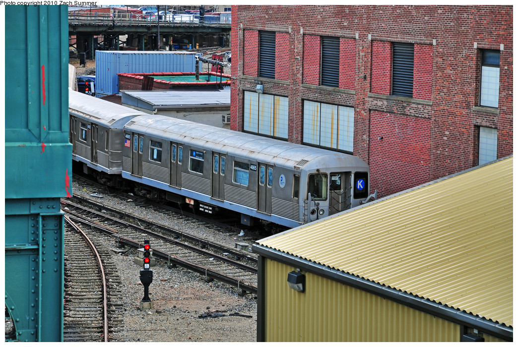 (388k, 1044x700)<br><b>Country:</b> United States<br><b>City:</b> New York<br><b>System:</b> New York City Transit<br><b>Location:</b> Coney Island Yard<br><b>Car:</b> R-42 (St. Louis, 1969-1970)  4665 <br><b>Photo by:</b> Zach Summer<br><b>Date:</b> 3/10/2010<br><b>Viewed (this week/total):</b> 1 / 882