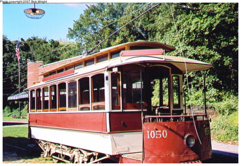 (178k, 920x634)<br><b>Country:</b> United States<br><b>City:</b> Baltimore, MD<br><b>System:</b> Baltimore Streetcar Museum <br><b>Car:</b>  1050 <br><b>Photo by:</b> Bob Wright<br><b>Date:</b> 10/2004<br><b>Viewed (this week/total):</b> 0 / 570