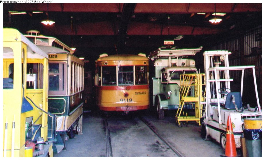 (113k, 920x555)<br><b>Country:</b> United States<br><b>City:</b> Baltimore, MD<br><b>System:</b> Baltimore Streetcar Museum <br><b>Car:</b>  6119 <br><b>Photo by:</b> Bob Wright<br><b>Date:</b> 10/2004<br><b>Viewed (this week/total):</b> 0 / 579