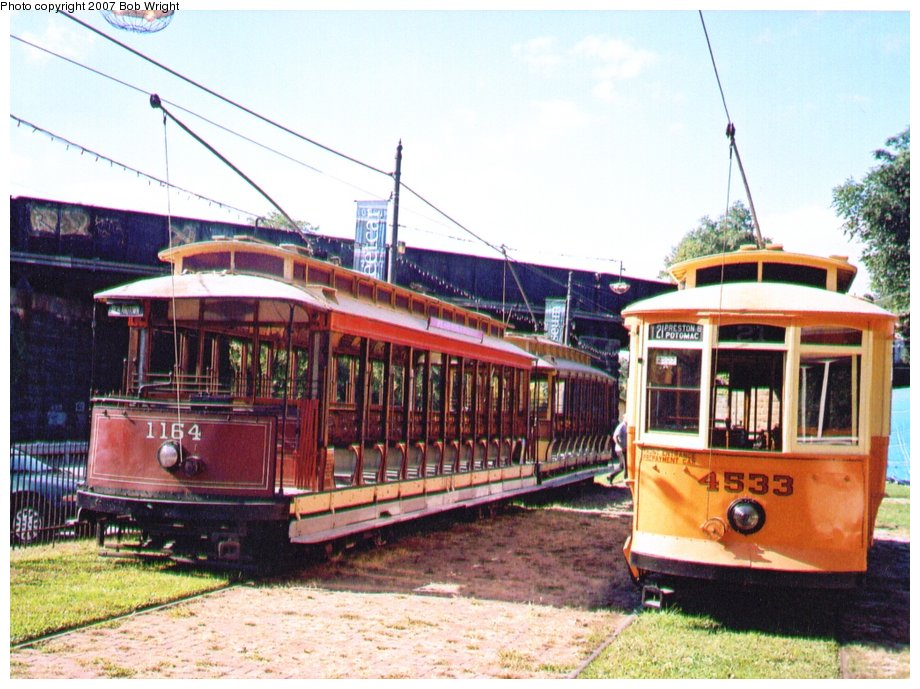 (142k, 920x689)<br><b>Country:</b> United States<br><b>City:</b> Baltimore, MD<br><b>System:</b> Baltimore Streetcar Museum <br><b>Car:</b>  1164/4533 <br><b>Photo by:</b> Bob Wright<br><b>Date:</b> 10/2004<br><b>Viewed (this week/total):</b> 1 / 569