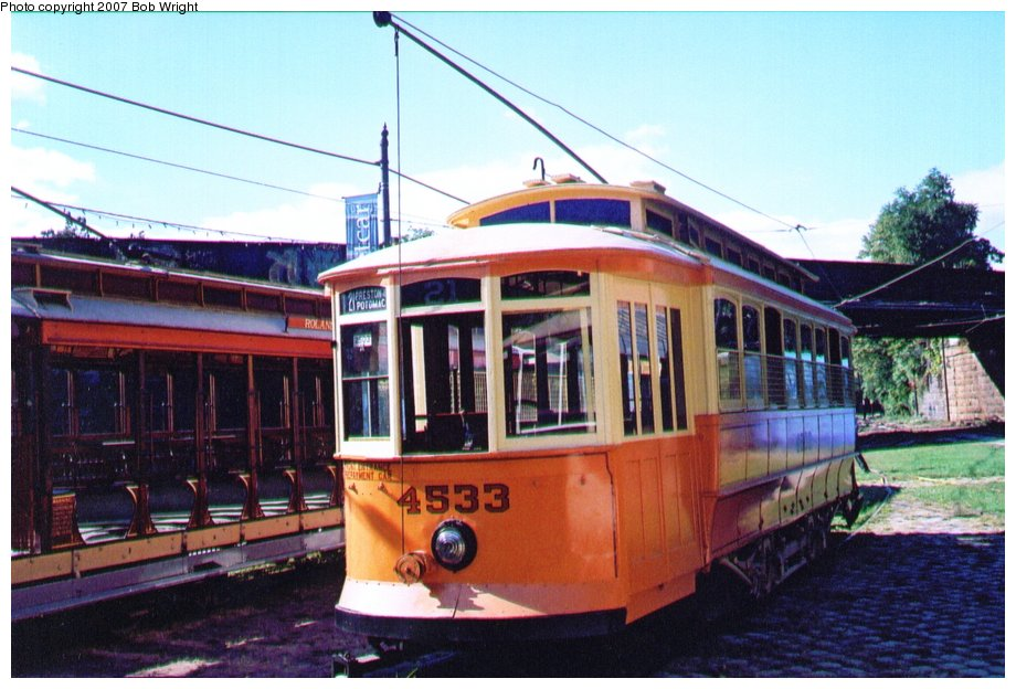 (120k, 920x624)<br><b>Country:</b> United States<br><b>City:</b> Baltimore, MD<br><b>System:</b> Baltimore Streetcar Museum <br><b>Car:</b>  4533 <br><b>Photo by:</b> Bob Wright<br><b>Date:</b> 10/2004<br><b>Viewed (this week/total):</b> 1 / 406