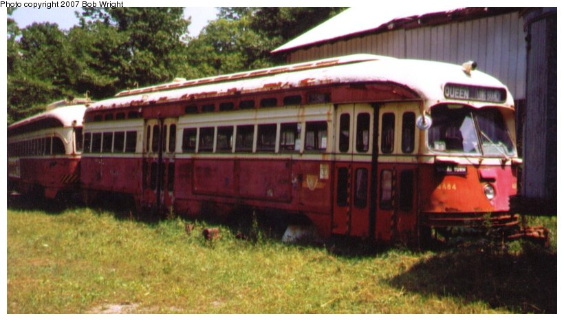 (83k, 820x466)<br><b>Country:</b> Canada<br><b>City:</b> Toronto<br><b>System:</b> Halton County Radial Railway <br><b>Car:</b> PCC (TTC Toronto) 4684 <br><b>Photo by:</b> Bob Wright<br><b>Date:</b> 7/1999<br><b>Viewed (this week/total):</b> 0 / 1222
