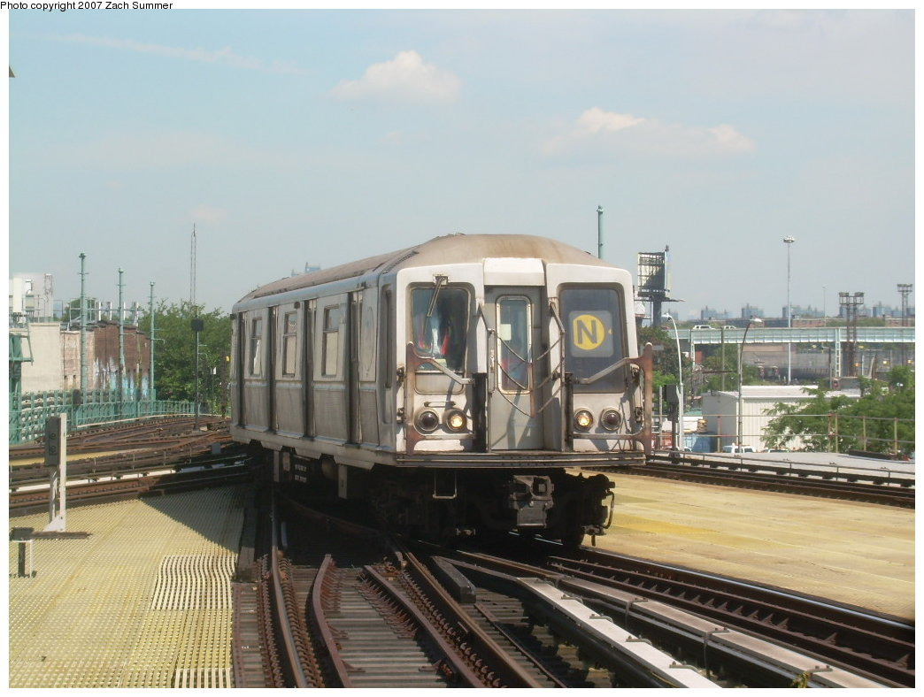 (190k, 1044x788)<br><b>Country:</b> United States<br><b>City:</b> New York<br><b>System:</b> New York City Transit<br><b>Location:</b> Coney Island/Stillwell Avenue<br><b>Route:</b> N<br><b>Car:</b> R-40 (St. Louis, 1968)  4394 <br><b>Photo by:</b> Zach Summer<br><b>Date:</b> 8/12/2007<br><b>Viewed (this week/total):</b> 4 / 1096