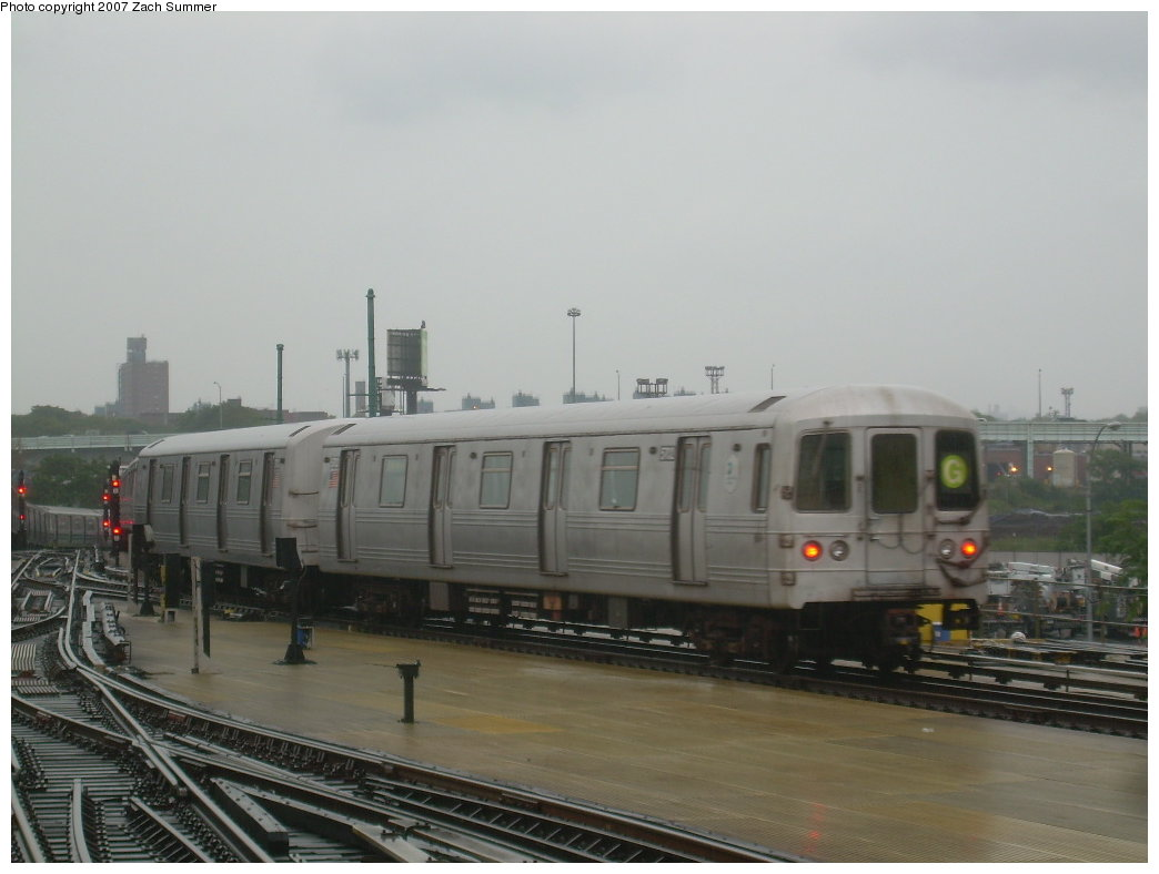 (146k, 1044x788)<br><b>Country:</b> United States<br><b>City:</b> New York<br><b>System:</b> New York City Transit<br><b>Location:</b> Coney Island/Stillwell Avenue<br><b>Route:</b> G<br><b>Car:</b> R-46 (Pullman-Standard, 1974-75) 5702 <br><b>Photo by:</b> Zach Summer<br><b>Date:</b> 8/19/2007<br><b>Viewed (this week/total):</b> 2 / 1490