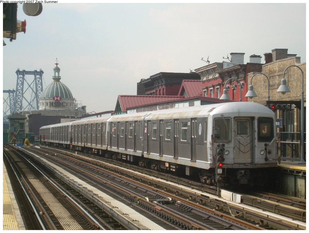 (218k, 1044x788)<br><b>Country:</b> United States<br><b>City:</b> New York<br><b>System:</b> New York City Transit<br><b>Line:</b> BMT Nassau Street/Jamaica Line<br><b>Location:</b> Marcy Avenue <br><b>Route:</b> J<br><b>Car:</b> R-42 (St. Louis, 1969-1970)  4759 <br><b>Photo by:</b> Zach Summer<br><b>Date:</b> 8/28/2007<br><b>Viewed (this week/total):</b> 0 / 1138