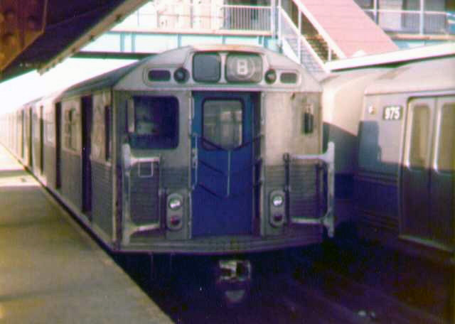 (69k, 640x456)<br><b>Country:</b> United States<br><b>City:</b> New York<br><b>System:</b> New York City Transit<br><b>Location:</b> Coney Island/Stillwell Avenue<br><b>Route:</b> B<br><b>Car:</b> R-38 (St. Louis, 1966-1967)   <br><b>Photo by:</b> Bob Wright<br><b>Date:</b> 3/1978<br><b>Viewed (this week/total):</b> 8 / 2409