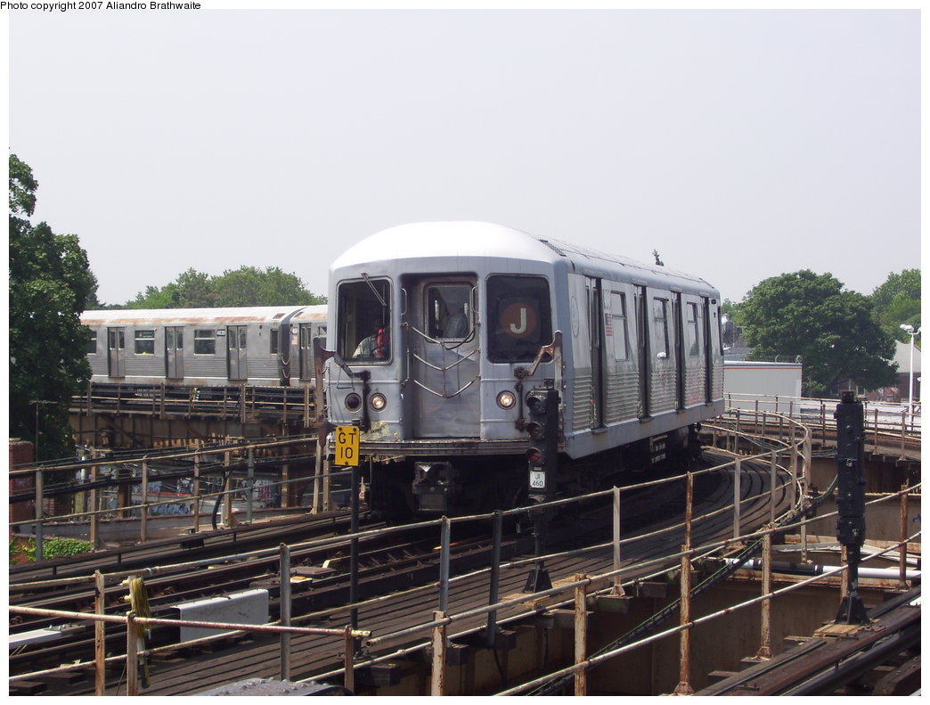 (181k, 1044x791)<br><b>Country:</b> United States<br><b>City:</b> New York<br><b>System:</b> New York City Transit<br><b>Line:</b> BMT Nassau Street/Jamaica Line<br><b>Location:</b> Cypress Hills <br><b>Route:</b> J<br><b>Car:</b> R-42 (St. Louis, 1969-1970)  4816 <br><b>Photo by:</b> Aliandro Brathwaite<br><b>Date:</b> 6/28/2007<br><b>Viewed (this week/total):</b> 11 / 1169