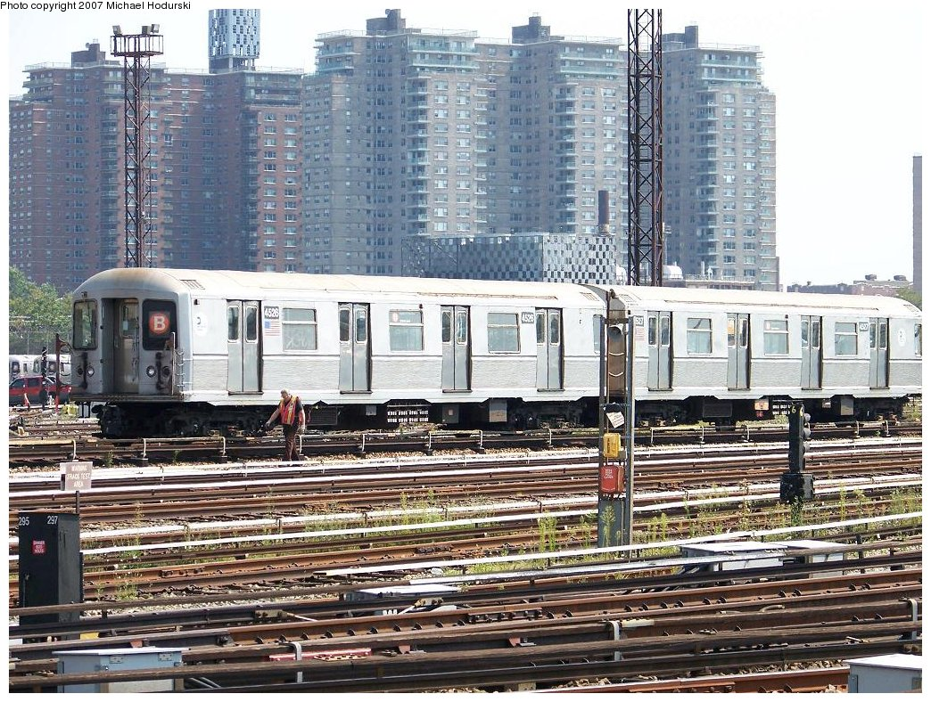 (285k, 1044x788)<br><b>Country:</b> United States<br><b>City:</b> New York<br><b>System:</b> New York City Transit<br><b>Location:</b> Coney Island Yard<br><b>Car:</b> R-40M (St. Louis, 1969)  4526 <br><b>Photo by:</b> Michael Hodurski<br><b>Date:</b> 8/30/2007<br><b>Viewed (this week/total):</b> 0 / 1678