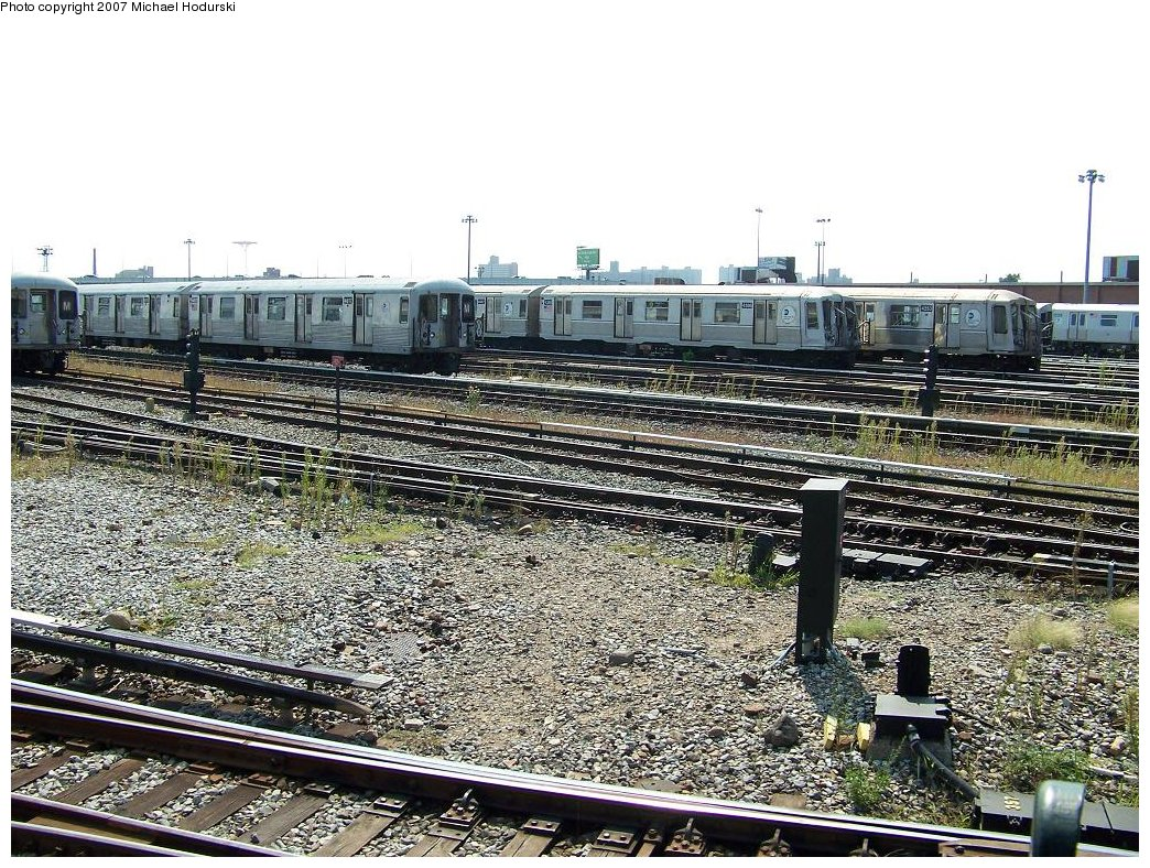 (295k, 1044x788)<br><b>Country:</b> United States<br><b>City:</b> New York<br><b>System:</b> New York City Transit<br><b>Location:</b> Coney Island Yard<br><b>Car:</b> R-40 (St. Louis, 1968)  4366 <br><b>Photo by:</b> Michael Hodurski<br><b>Date:</b> 9/8/2007<br><b>Viewed (this week/total):</b> 2 / 1332
