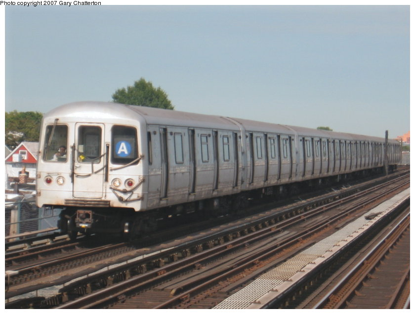 (93k, 840x635)<br><b>Country:</b> United States<br><b>City:</b> New York<br><b>System:</b> New York City Transit<br><b>Line:</b> IND Fulton Street Line<br><b>Location:</b> 104th Street/Oxford Ave. <br><b>Route:</b> A<br><b>Car:</b> R-44 (St. Louis, 1971-73) 5368 <br><b>Photo by:</b> Gary Chatterton<br><b>Date:</b> 9/5/2007<br><b>Viewed (this week/total):</b> 0 / 1207