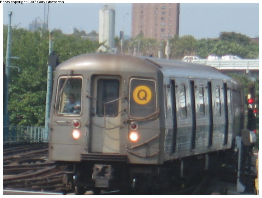 (86k, 840x635)<br><b>Country:</b> United States<br><b>City:</b> New York<br><b>System:</b> New York City Transit<br><b>Location:</b> Coney Island/Stillwell Avenue<br><b>Route:</b> Q<br><b>Car:</b> R-68A (Kawasaki, 1988-1989)  5152 <br><b>Photo by:</b> Gary Chatterton<br><b>Date:</b> 9/8/2007<br><b>Viewed (this week/total):</b> 0 / 973