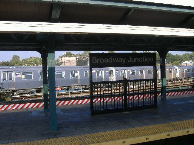 (74k, 640x480)<br><b>Country:</b> United States<br><b>City:</b> New York<br><b>System:</b> New York City Transit<br><b>Location:</b> East New York Yard/Shops<br><b>Car:</b> R-160A-1 (Alstom, 2005-2008, 4 car sets)  8344/8343 <br><b>Photo by:</b> Craig Williams<br><b>Date:</b> 10/2006<br><b>Viewed (this week/total):</b> 2 / 2378