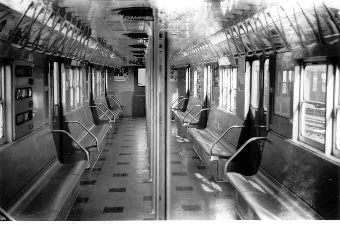 (28k, 680x452)<br><b>Country:</b> United States<br><b>City:</b> New York<br><b>System:</b> New York City Transit<br><b>Car:</b> R-27 (St. Louis, 1960)  8023 <br><b>Photo by:</b> Frank Pfuhler<br><b>Date:</b> 11/26/1960<br><b>Viewed (this week/total):</b> 3 / 2302