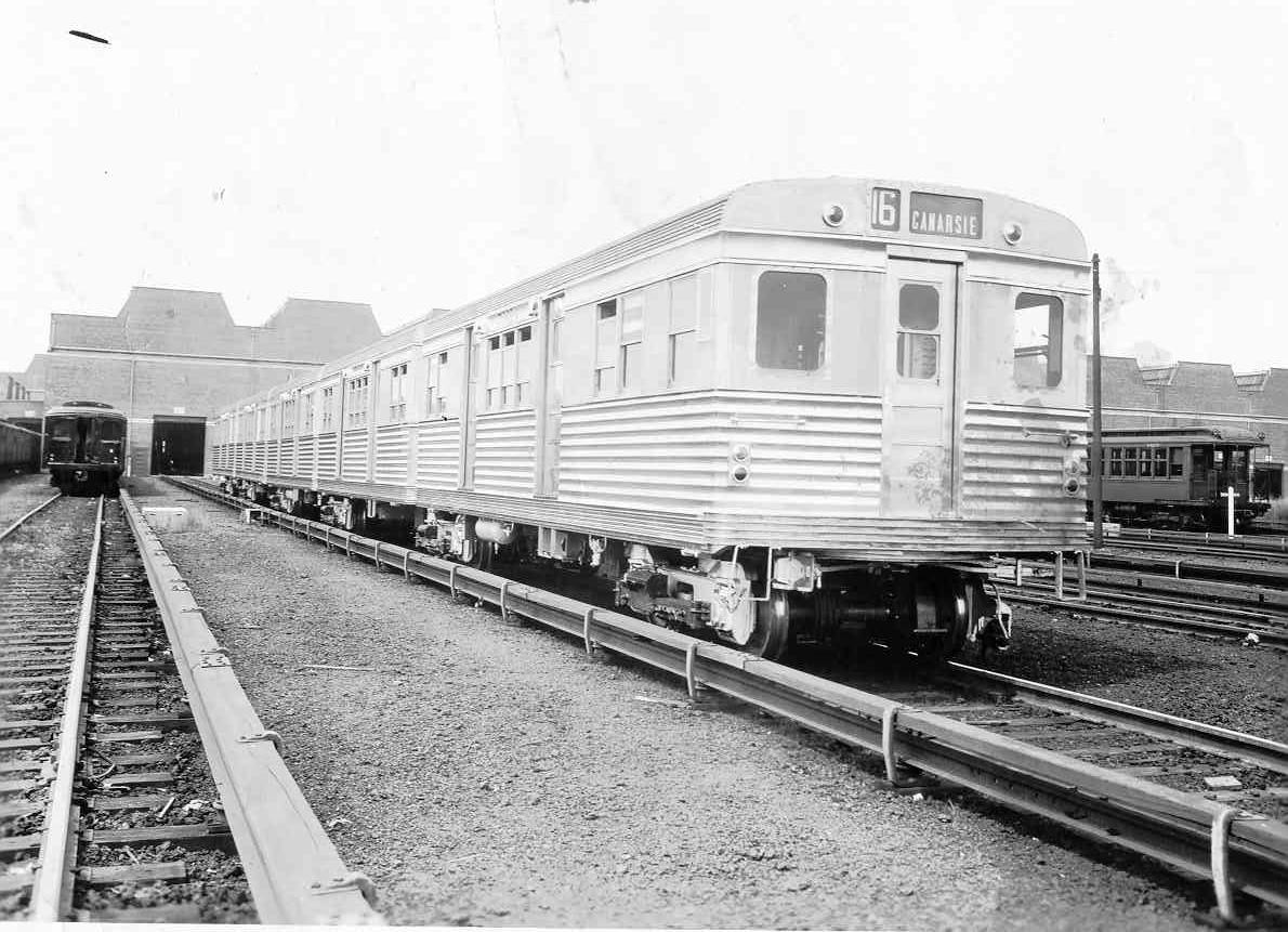 (170k, 1190x861)<br><b>Country:</b> United States<br><b>City:</b> New York<br><b>System:</b> New York City Transit<br><b>Location:</b> Coney Island Yard<br><b>Car:</b> BMT Zephyr  <br><b>Collection of:</b> Frank Pfuhler<br><b>Viewed (this week/total):</b> 3 / 1401