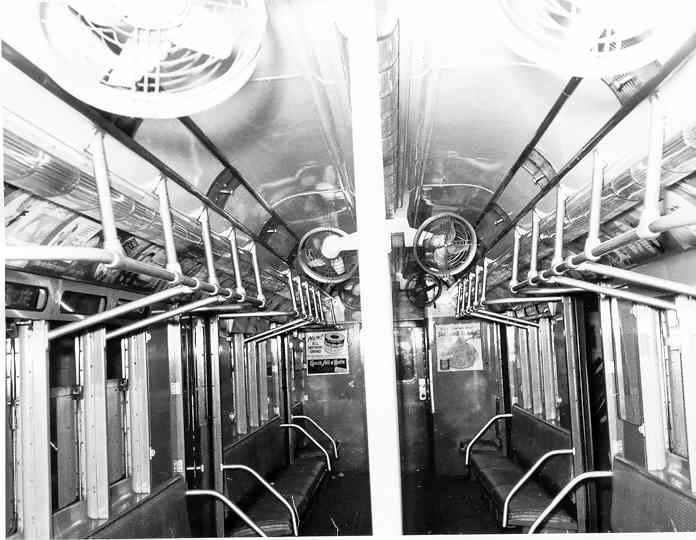 (40k, 696x540)<br><b>Country:</b> United States<br><b>City:</b> New York<br><b>System:</b> New York City Transit<br><b>Car:</b> R-14 (American Car & Foundry, 1949) 5726 <br><b>Photo by:</b> Frank Pfuhler<br><b>Date:</b> 11/11/1954<br><b>Viewed (this week/total):</b> 11 / 2254