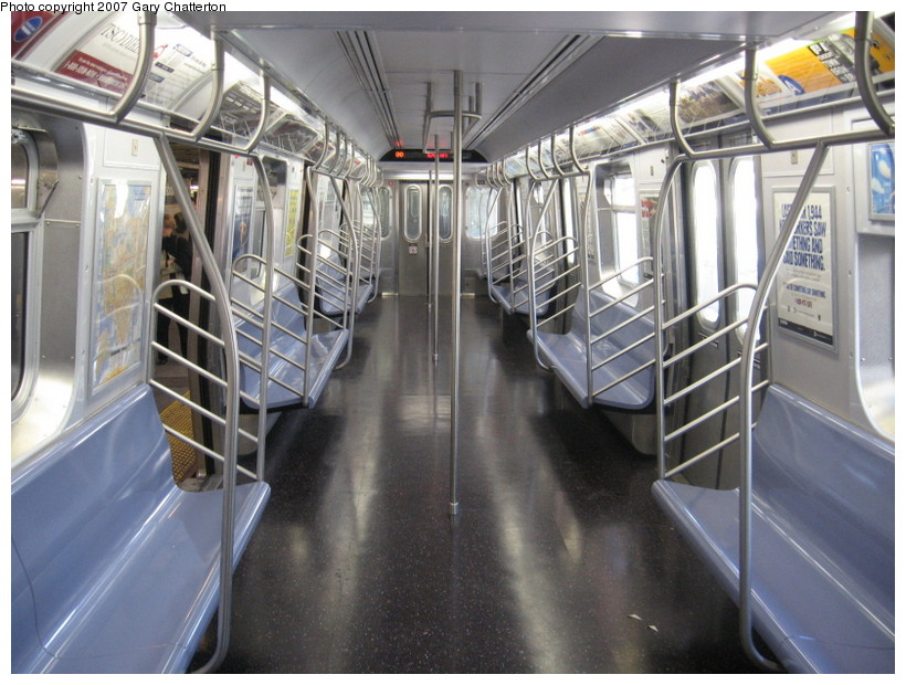 (150k, 820x620)<br><b>Country:</b> United States<br><b>City:</b> New York<br><b>System:</b> New York City Transit<br><b>Route:</b> N<br><b>Car:</b> R-160B (Kawasaki, 2005-2008)  8726 <br><b>Photo by:</b> Gary Chatterton<br><b>Date:</b> 10/15/2007<br><b>Viewed (this week/total):</b> 1 / 1678