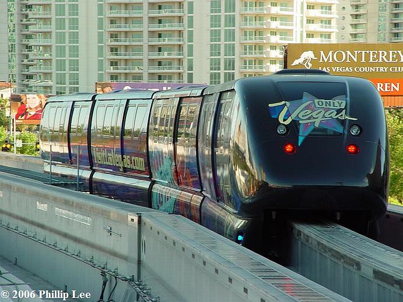 (118k, 800x600)<br><b>Country:</b> United States<br><b>City:</b> Las Vegas, NV<br><b>System:</b> Las Vegas Monorail<br><b>Location:</b> Sahara <br><b>Photo by:</b> Phillip Lee<br><b>Date:</b> 6/14/2006<br><b>Viewed (this week/total):</b> 1 / 1429