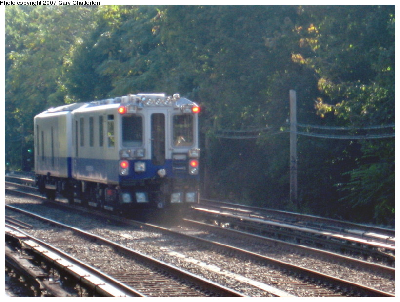 (148k, 820x620)<br><b>Country:</b> United States<br><b>City:</b> New York<br><b>System:</b> New York City Transit<br><b>Line:</b> BMT Brighton Line<br><b>Location:</b> Avenue J <br><b>Route:</b> Work Service<br><b>Car:</b> Track Geometry Car TGC3 <br><b>Photo by:</b> Gary Chatterton<br><b>Date:</b> 10/22/2007<br><b>Viewed (this week/total):</b> 0 / 2706