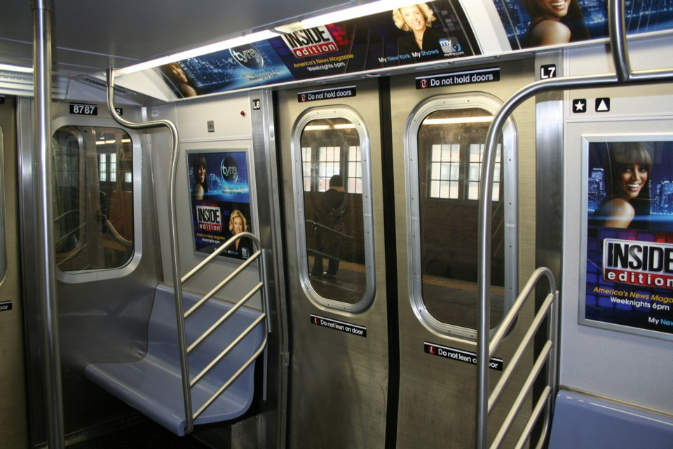 (230k, 960x640)<br><b>Country:</b> United States<br><b>City:</b> New York<br><b>System:</b> New York City Transit<br><b>Line:</b> BMT Astoria Line<br><b>Route:</b> N<br><b>Car:</b> R-160B (Kawasaki, 2005-2008)  8787 <br><b>Photo by:</b> Todd Glickman<br><b>Date:</b> 11/12/2007<br><b>Viewed (this week/total):</b> 6 / 1966