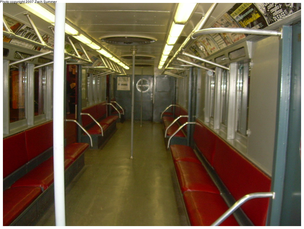 (237k, 1044x788)<br><b>Country:</b> United States<br><b>City:</b> New York<br><b>System:</b> New York City Transit<br><b>Location:</b> New York Transit Museum<br><b>Car:</b> R-15 (American Car & Foundry, 1950) 6239 <br><b>Photo by:</b> Zach Summer<br><b>Date:</b> 8/18/2007<br><b>Viewed (this week/total):</b> 2 / 1644