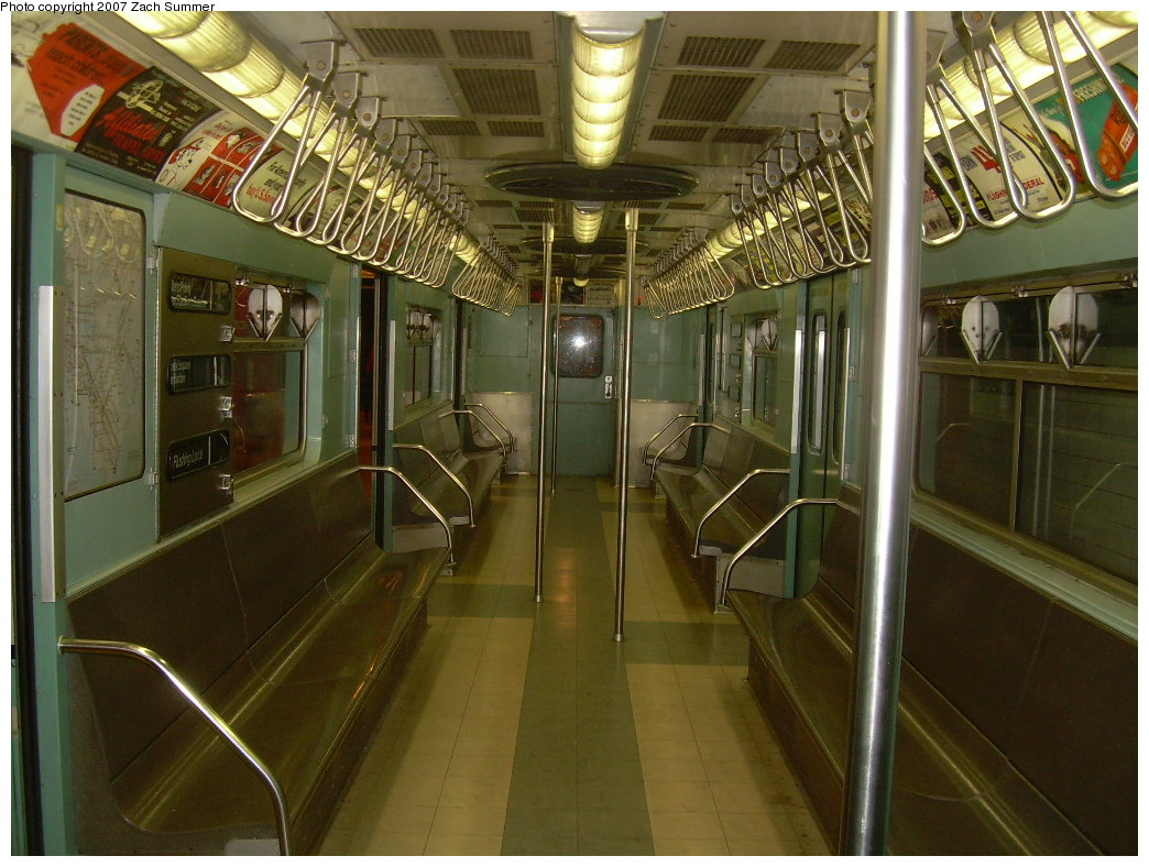 (273k, 1044x788)<br><b>Country:</b> United States<br><b>City:</b> New York<br><b>System:</b> New York City Transit<br><b>Location:</b> New York Transit Museum<br><b>Car:</b> R-33 World's Fair (St. Louis, 1963-64) 9306 <br><b>Photo by:</b> Zach Summer<br><b>Date:</b> 8/18/2007<br><b>Viewed (this week/total):</b> 3 / 1463