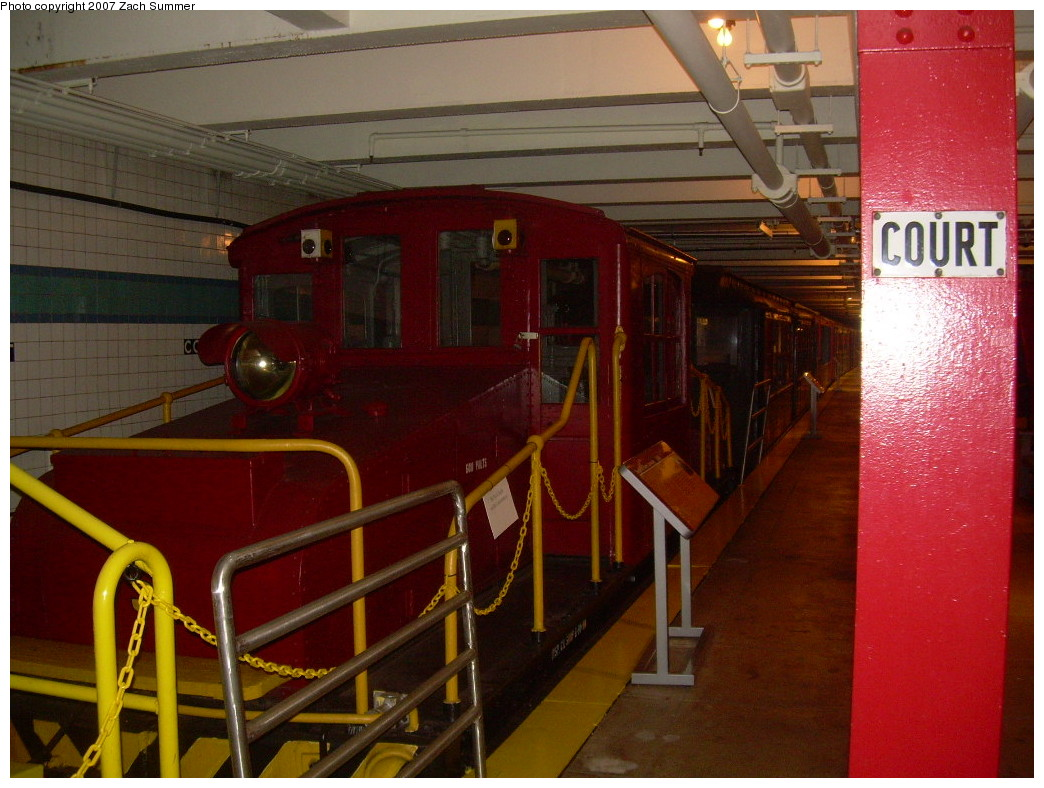 (257k, 1044x788)<br><b>Country:</b> United States<br><b>City:</b> New York<br><b>System:</b> New York City Transit<br><b>Location:</b> New York Transit Museum<br><b>Car:</b> SBK Steeplecab 5 <br><b>Photo by:</b> Zach Summer<br><b>Date:</b> 8/18/2007<br><b>Viewed (this week/total):</b> 2 / 1361