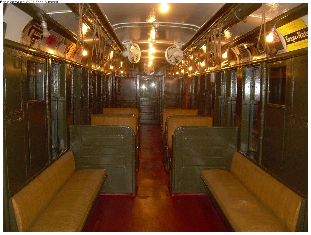 (288k, 1044x788)<br><b>Country:</b> United States<br><b>City:</b> New York<br><b>System:</b> New York City Transit<br><b>Location:</b> New York Transit Museum<br><b>Car:</b> BMT Q 1612 <br><b>Photo by:</b> Zach Summer<br><b>Date:</b> 8/18/2007<br><b>Viewed (this week/total):</b> 4 / 1552