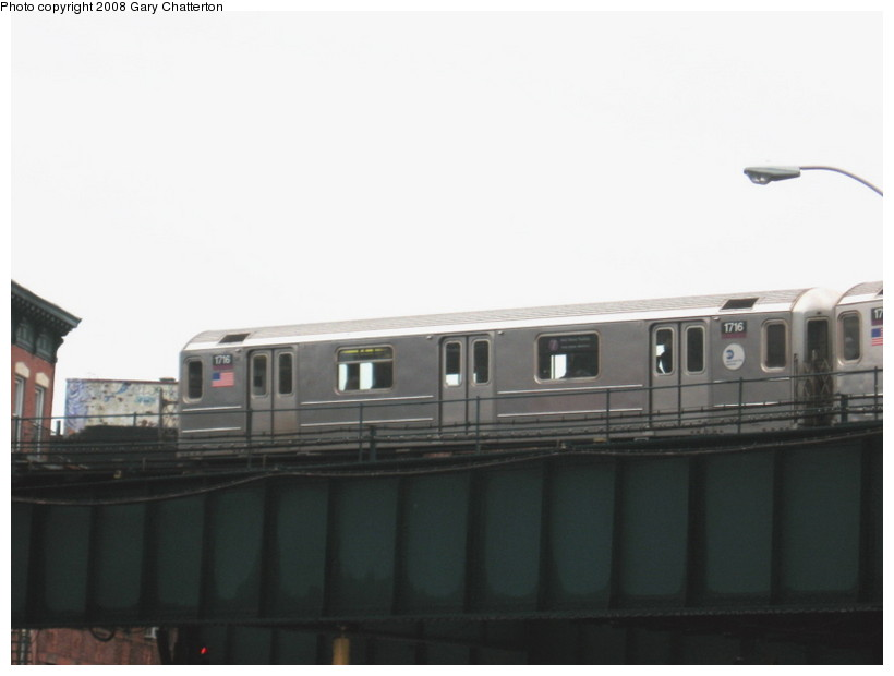 (62k, 820x620)<br><b>Country:</b> United States<br><b>City:</b> New York<br><b>System:</b> New York City Transit<br><b>Line:</b> IRT Flushing Line<br><b>Location:</b> Court House Square/45th Road <br><b>Route:</b> 7<br><b>Car:</b> R-62A (Bombardier, 1984-1987)  1716 <br><b>Photo by:</b> Gary Chatterton<br><b>Date:</b> 12/23/2007<br><b>Viewed (this week/total):</b> 0 / 717
