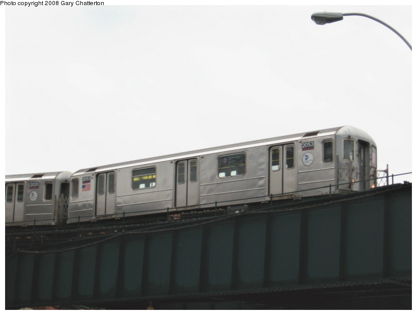 (61k, 820x620)<br><b>Country:</b> United States<br><b>City:</b> New York<br><b>System:</b> New York City Transit<br><b>Line:</b> IRT Flushing Line<br><b>Location:</b> Court House Square/45th Road <br><b>Route:</b> 7<br><b>Car:</b> R-62A (Bombardier, 1984-1987)  2053 <br><b>Photo by:</b> Gary Chatterton<br><b>Date:</b> 12/23/2007<br><b>Viewed (this week/total):</b> 0 / 772