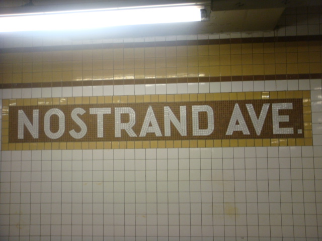 (88k, 640x480)<br><b>Country:</b> United States<br><b>City:</b> New York<br><b>System:</b> New York City Transit<br><b>Line:</b> IND Fulton Street Line<br><b>Location:</b> Nostrand Avenue <br><b>Photo by:</b> Danny Molina<br><b>Date:</b> 1/9/2008<br><b>Viewed (this week/total):</b> 0 / 941