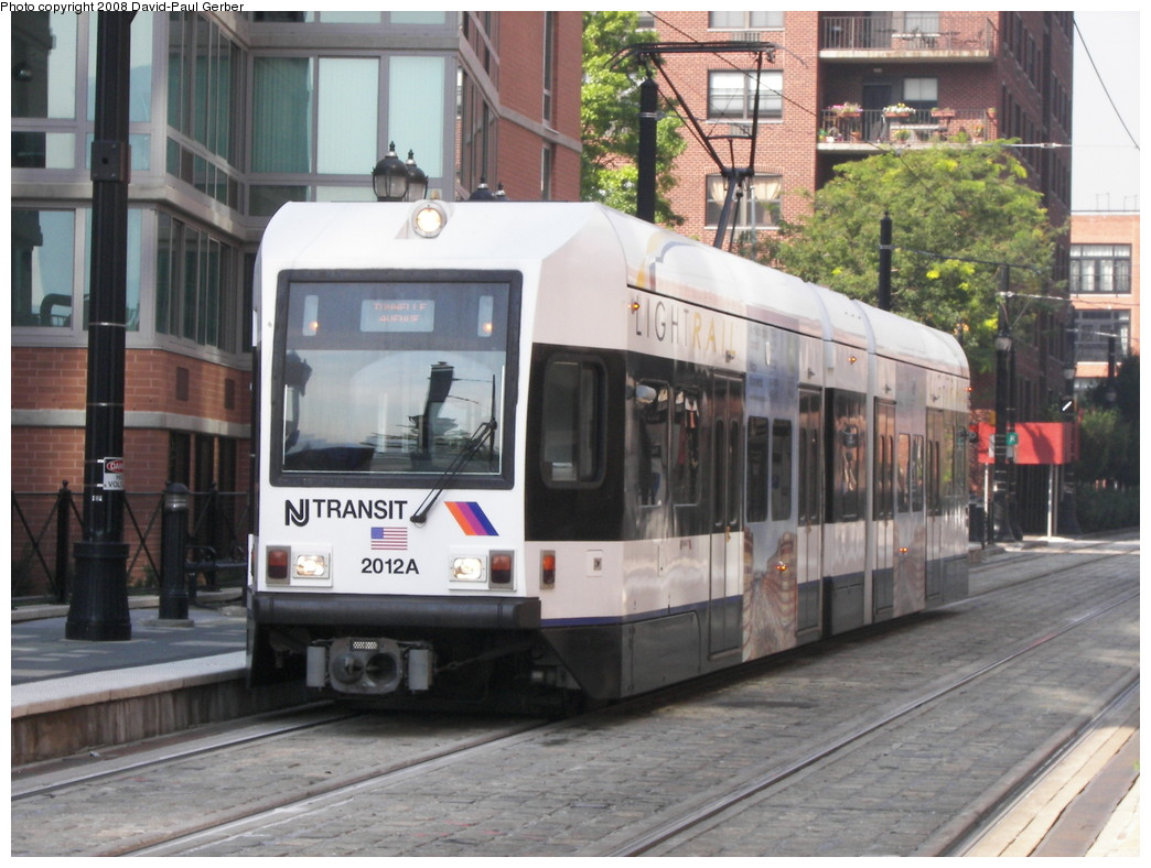 (269k, 1044x788)<br><b>Country:</b> United States<br><b>City:</b> Jersey City, NJ<br><b>System:</b> Hudson Bergen Light Rail<br><b>Location:</b> Essex Street <br><b>Car:</b> NJT-HBLR LRV (Kinki-Sharyo, 1998-99)  2012 <br><b>Photo by:</b> David-Paul Gerber<br><b>Date:</b> 9/21/2007<br><b>Viewed (this week/total):</b> 1 / 438