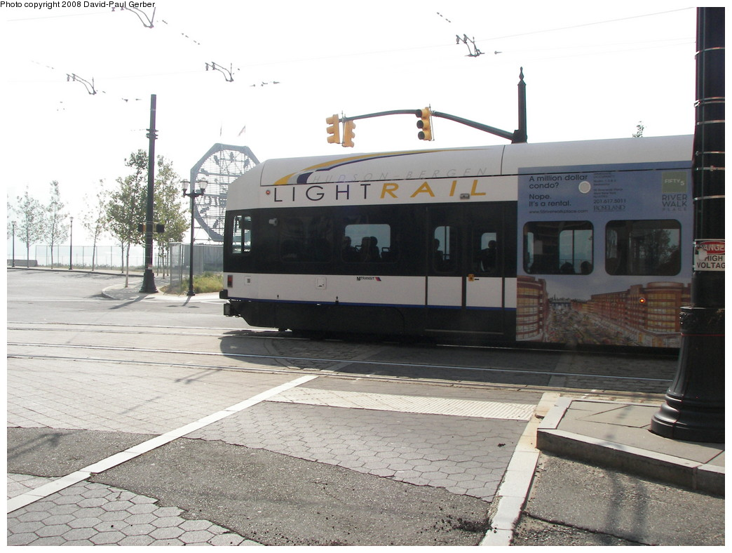 (259k, 1044x788)<br><b>Country:</b> United States<br><b>City:</b> Jersey City, NJ<br><b>System:</b> Hudson Bergen Light Rail<br><b>Location:</b> Essex Street <br><b>Car:</b> NJT-HBLR LRV (Kinki-Sharyo, 1998-99)  2012 <br><b>Photo by:</b> David-Paul Gerber<br><b>Date:</b> 9/21/2007<br><b>Viewed (this week/total):</b> 0 / 431