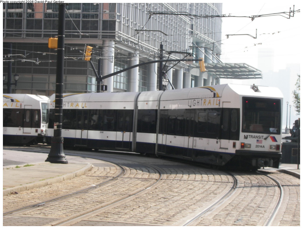 (253k, 1044x788)<br><b>Country:</b> United States<br><b>City:</b> Jersey City, NJ<br><b>System:</b> Hudson Bergen Light Rail<br><b>Location:</b> Essex Street <br><b>Car:</b> NJT-HBLR LRV (Kinki-Sharyo, 1998-99)  2014 <br><b>Photo by:</b> David-Paul Gerber<br><b>Date:</b> 9/21/2007<br><b>Viewed (this week/total):</b> 0 / 571