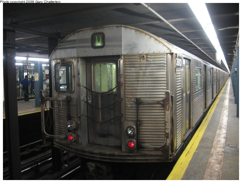 (126k, 820x620)<br><b>Country:</b> United States<br><b>City:</b> New York<br><b>System:</b> New York City Transit<br><b>Line:</b> IND Queens Boulevard Line<br><b>Location:</b> Northern Boulevard <br><b>Route:</b> V<br><b>Car:</b> R-32 (Budd, 1964)  3610 <br><b>Photo by:</b> Gary Chatterton<br><b>Date:</b> 8/13/2009<br><b>Viewed (this week/total):</b> 1 / 644