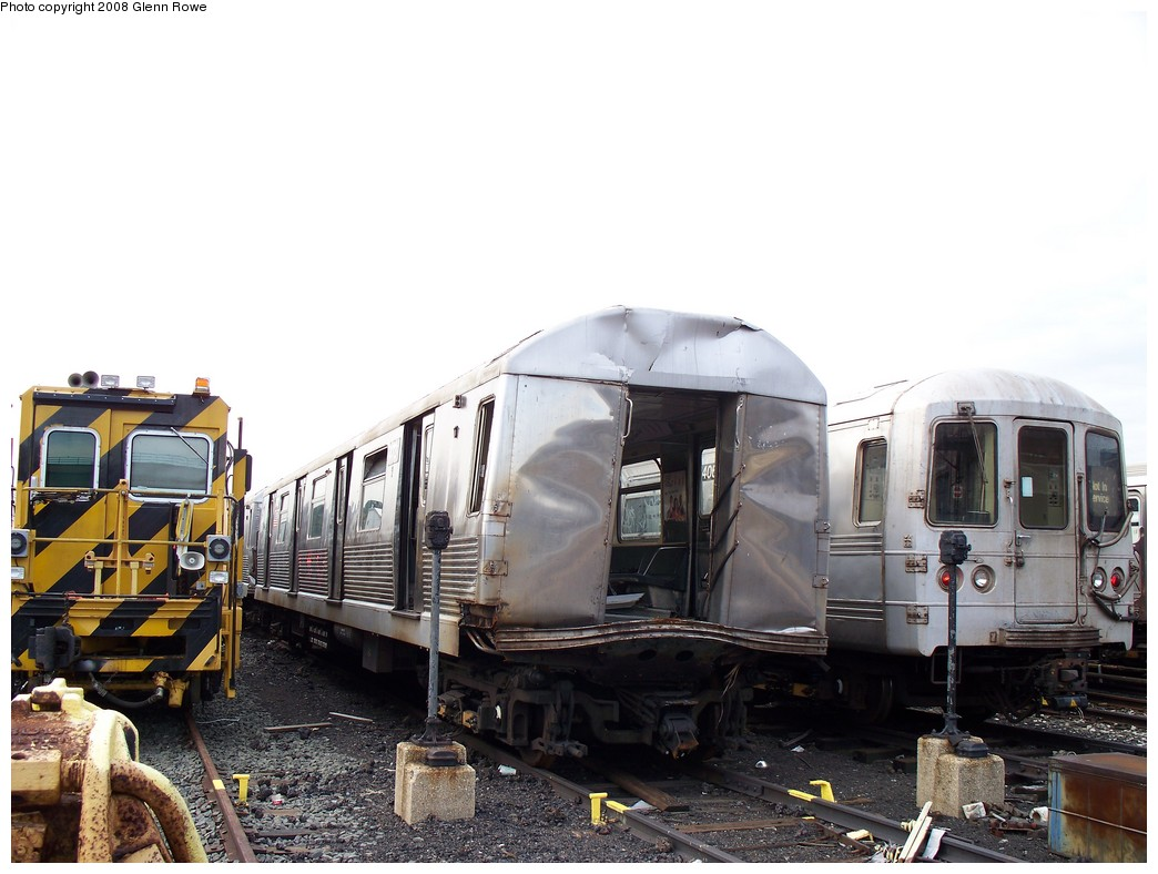 (193k, 1044x788)<br><b>Country:</b> United States<br><b>City:</b> New York<br><b>System:</b> New York City Transit<br><b>Location:</b> 207th Street Yard<br><b>Car:</b> R-42 (St. Louis, 1969-1970)  4731 <br><b>Photo by:</b> Glenn L. Rowe<br><b>Date:</b> 1/17/2008<br><b>Viewed (this week/total):</b> 2 / 4191
