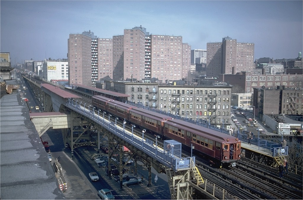 (228k, 1024x677)<br><b>Country:</b> United States<br><b>City:</b> New York<br><b>System:</b> New York City Transit<br><b>Line:</b> IRT West Side Line<br><b>Location:</b> 125th Street <br><b>Route:</b> Fan Trip<br><b>Car:</b> Low-V (Museum Train) 5443 <br><b>Photo by:</b> Steve Zabel<br><b>Collection of:</b> Joe Testagrose<br><b>Date:</b> 3/8/1979<br><b>Viewed (this week/total):</b> 2 / 3413