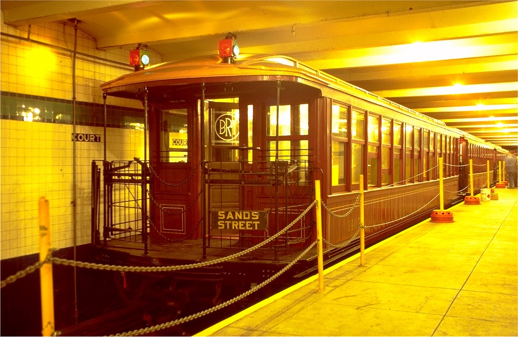 (206k, 1024x667)<br><b>Country:</b> United States<br><b>City:</b> New York<br><b>System:</b> New York City Transit<br><b>Location:</b> New York Transit Museum<br><b>Car:</b> BMT Elevated Gate Car 1407 <br><b>Photo by:</b> Joe Testagrose<br><b>Date:</b> 9/14/1979<br><b>Viewed (this week/total):</b> 1 / 6978