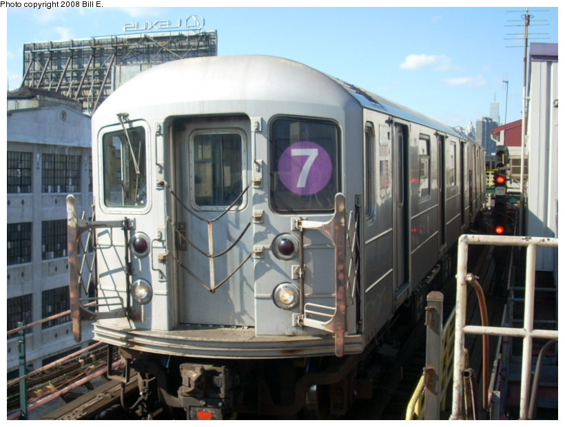 (163k, 820x620)<br><b>Country:</b> United States<br><b>City:</b> New York<br><b>System:</b> New York City Transit<br><b>Line:</b> IRT Flushing Line<br><b>Location:</b> Queensborough Plaza <br><b>Route:</b> 7<br><b>Car:</b> R-62A (Bombardier, 1984-1987)  2099 <br><b>Photo by:</b> Bill E.<br><b>Date:</b> 2/19/2008<br><b>Viewed (this week/total):</b> 1 / 1285