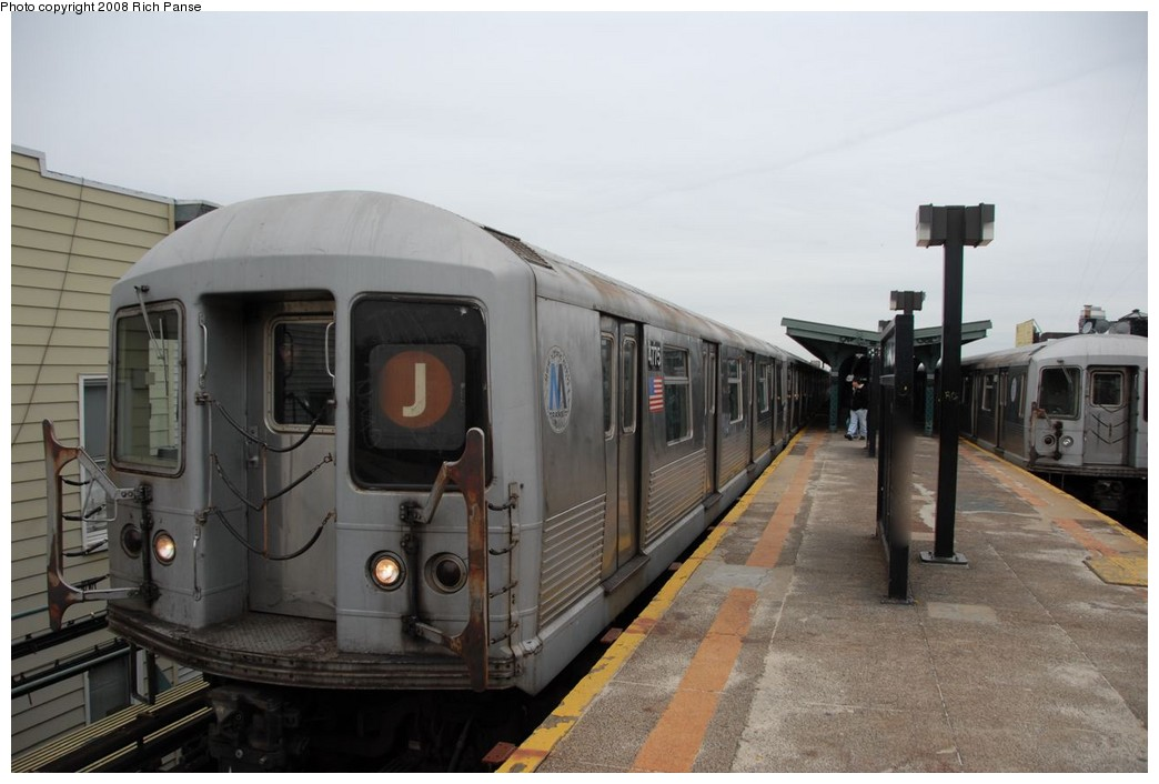(145k, 1044x706)<br><b>Country:</b> United States<br><b>City:</b> New York<br><b>System:</b> New York City Transit<br><b>Line:</b> BMT Myrtle Avenue Line<br><b>Location:</b> Seneca Avenue <br><b>Route:</b> J reroute.<br><b>Car:</b> R-42 (St. Louis, 1969-1970)  4775 <br><b>Photo by:</b> Richard Panse<br><b>Date:</b> 2/17/2008<br><b>Viewed (this week/total):</b> 11 / 932