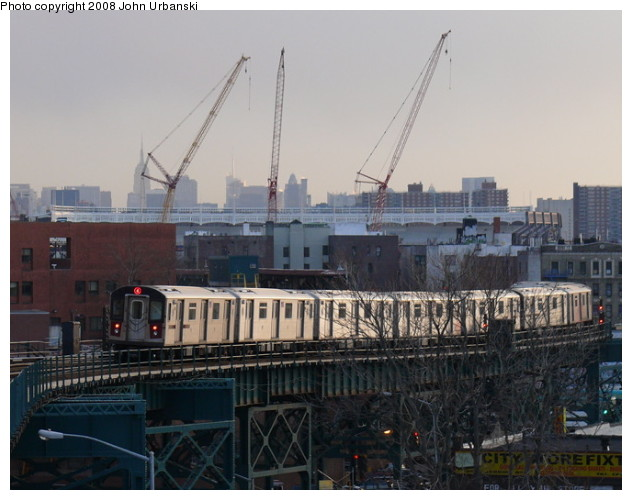 (81k, 632x500)<br><b>Country:</b> United States<br><b>City:</b> New York<br><b>System:</b> New York City Transit<br><b>Line:</b> IRT Woodlawn Line<br><b>Location:</b> 167th Street <br><b>Route:</b> 4<br><b>Car:</b> R-142 or R-142A (Number Unknown)  <br><b>Photo by:</b> John Urbanski<br><b>Date:</b> 2/19/2008<br><b>Viewed (this week/total):</b> 4 / 2480