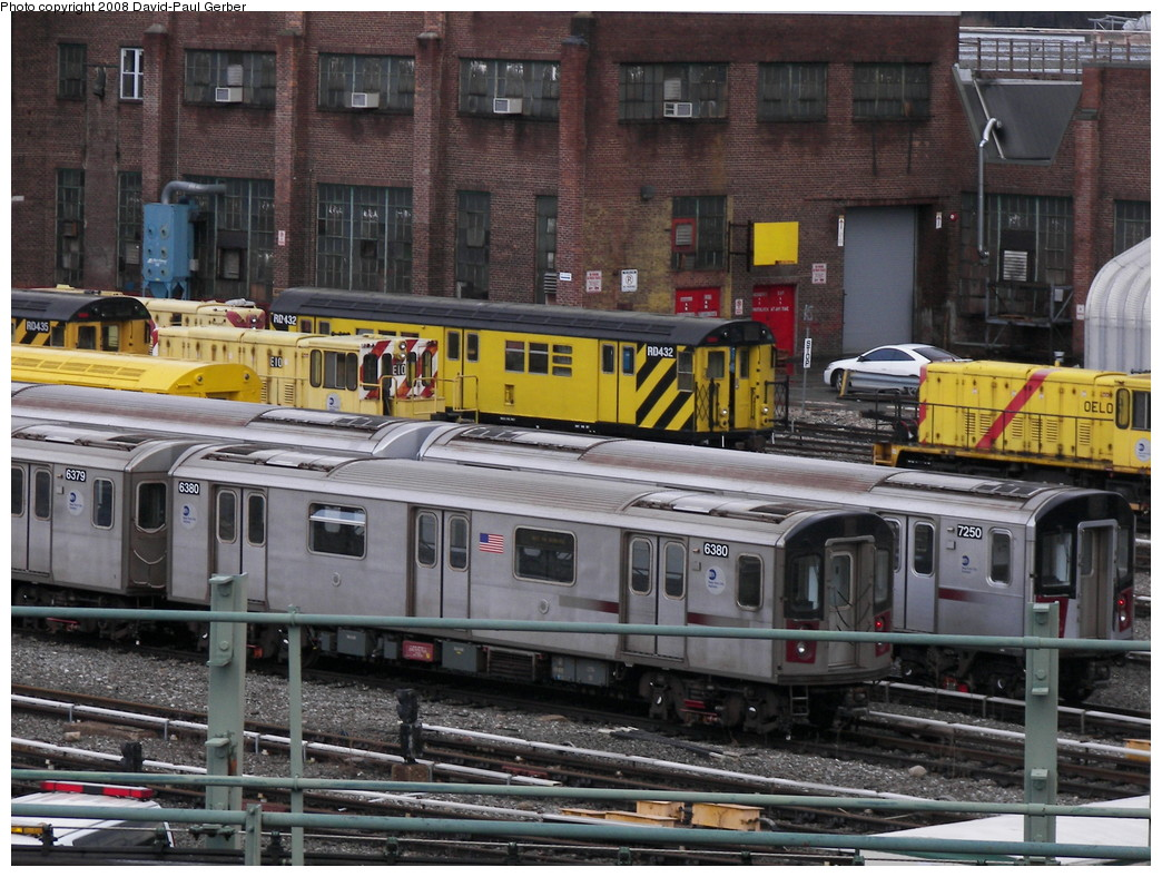 (314k, 1044x788)<br><b>Country:</b> United States<br><b>City:</b> New York<br><b>System:</b> New York City Transit<br><b>Location:</b> 207th Street Yard<br><b>Car:</b> R-142 (Primary Order, Bombardier, 1999-2002)  6380 <br><b>Photo by:</b> David-Paul Gerber<br><b>Date:</b> 2/18/2008<br><b>Viewed (this week/total):</b> 0 / 1627